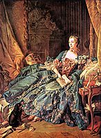 The Marquise de Pompadour, 1758, boucher