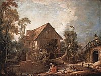 The Mill, 1751, boucher