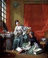 The Modiste, c.1746, boucher