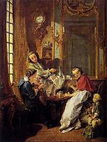 Morning Coffee, 1739, boucher