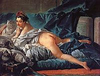 Odalisk, 1749, boucher