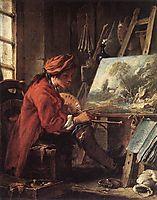 The Painter in his Studio , 1735, boucher