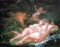 Pan and Syrinx  , 1759, boucher