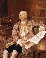 Portrait of Carl Gustaf Tessin, c.1740, boucher