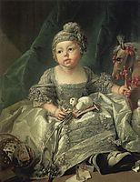 Portrait of Louis Philippe of Orléans, c.1750, boucher