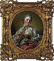 Portrait of Madame Boucher, 1745, boucher