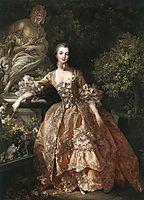 Portrait of Marquise de Pompadour, 1759, boucher
