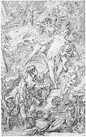 Pygmalion and Galatea, boucher
