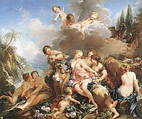 The Rape of Europa, 1732-1734, boucher
