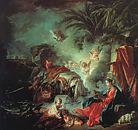 The Rest on the Flight into Egypt, 1737, boucher