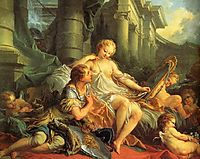 Rinaldo and Armida, boucher