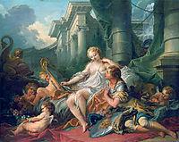 Rinaldo and Armida, 1734, boucher