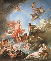 The Rising of the Sun  , 1753, boucher