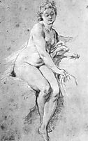 Seated Nude, 1738, boucher