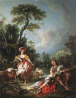 Summer Pastoral, 1749, boucher