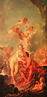 The Visit of Venus to Vulcan, 1754, boucher