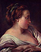 Woman-s Head, c.1750, boucher