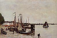 Antwerp, Fishing Boats, boudin