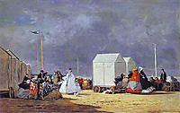 Approaching Storm, 1864, boudin