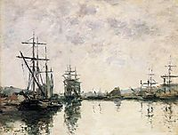 The Basin at Deauville, 1890, boudin