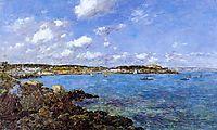 The Bay of Douarnenez, 1897, boudin