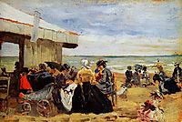 A Beach Scene, boudin