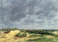 The Berck Dunes, 1886, boudin