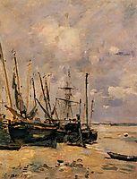 Boats, c.1890, boudin