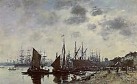 Bordeaux, Bacalan, View from the Quay, boudin