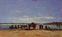 The Breton Fishermen-s Wives, boudin