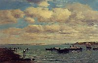 Camaret, Fishermen and Boats, boudin