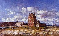 Camaret, the Jetty, 1873, boudin