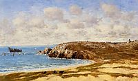 Camaret, Le Toulinguet, 1872, boudin