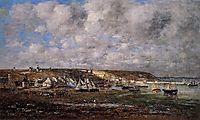 Camaret, Low Tide, 1873, boudin
