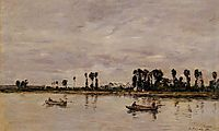 Caudebec-en-Caux, Banks of the Seine, 1892, boudin