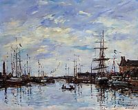 Deauville, the Dock, 1892, boudin