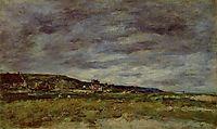Deauville, the Dunes, c.1890, boudin