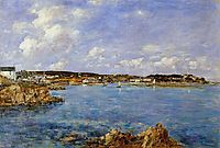 Douarnenez, the Bay, View of Tristan isle, 1897, boudin
