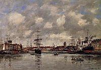 Dunkirk, the Holland Basin, 1889, boudin