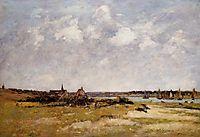 Etaples, La Canache, High Tide, 1890, boudin