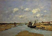 Etaples, La Canache, Low Tide, 1890, boudin