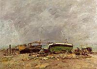 Etretat, 1890, boudin