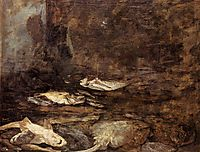 Fish, Skate and Dogfish, c.1873, boudin