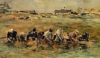 Laundresses, boudin