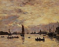 Le Havre. Avent Port., 1894, boudin