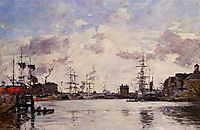 Le Havre. Barre Basin., 1894, boudin