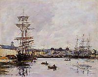 Le Havre, the Casimir Delavigne Basin, 1892, boudin