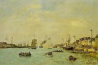 Le Havre, the Outer Harbour, 1894, boudin