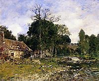 The Mill, Saint-Cenery, c.1892, boudin