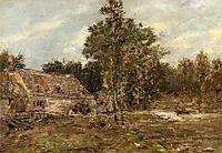 The Mill, Saint-Cenery, c.1891, boudin